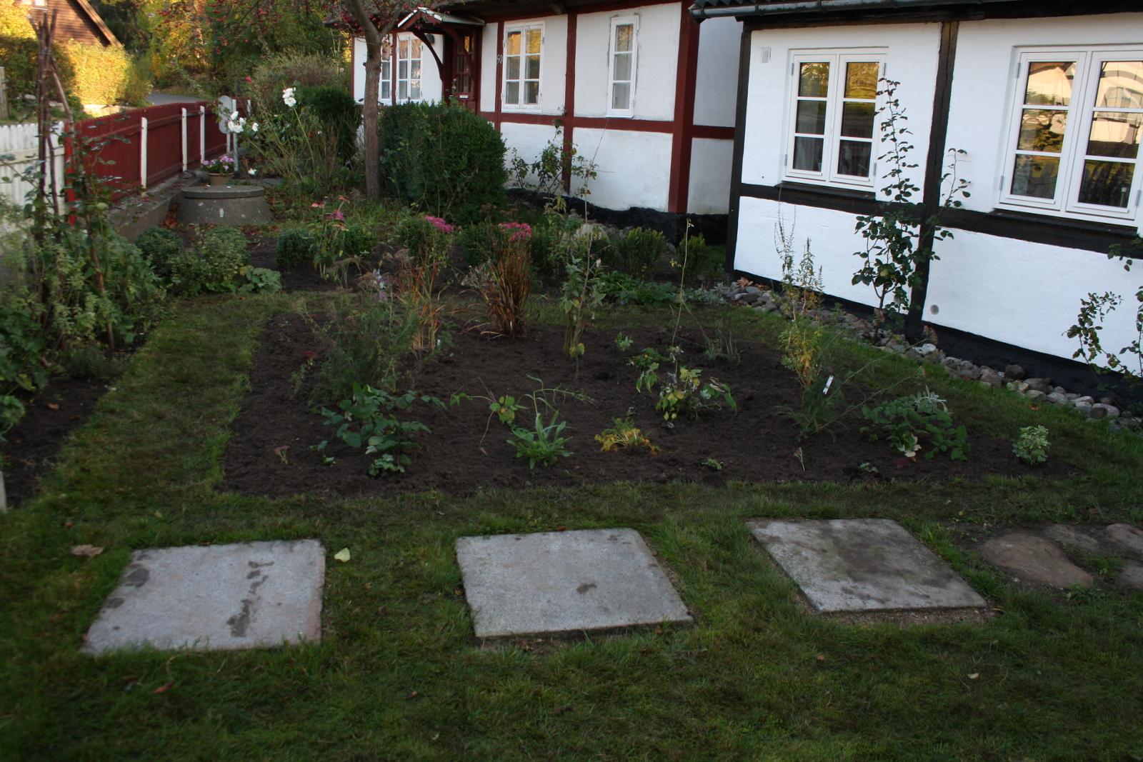 Beplantet bed